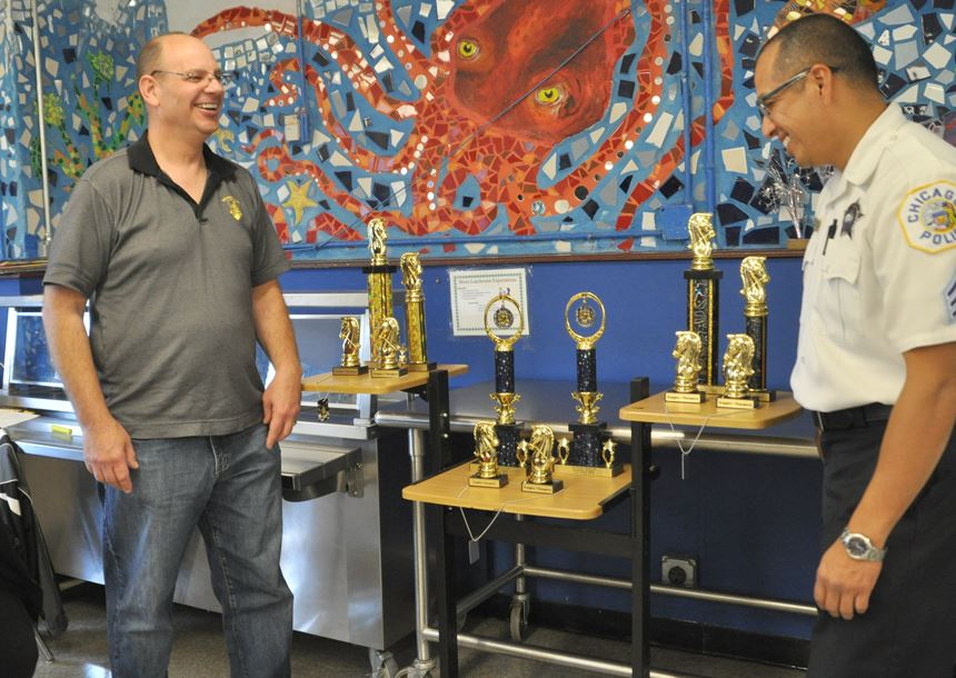 David Heiser - President and Founder of Chicago's Renaissance Knights Chess Club