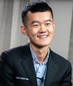 Ding Liren portrait