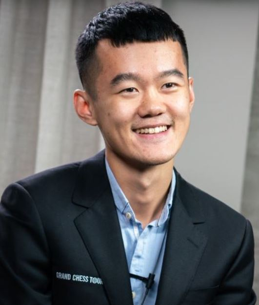 Ding Liren at 2019 Sinquefield Cup