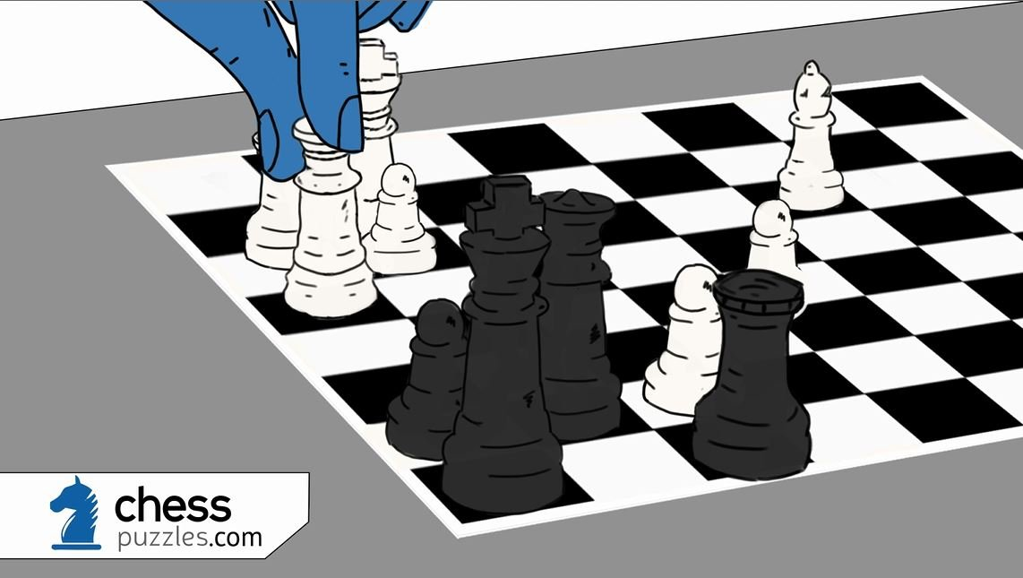 ChessPuzzles.com cartoon animation!