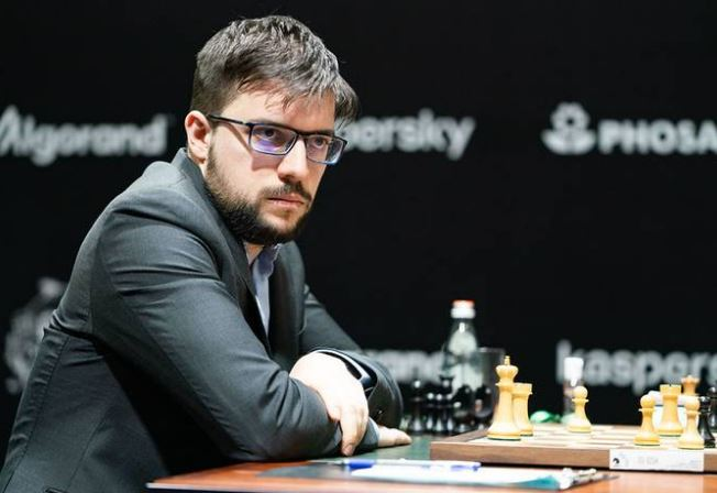 France's Maxime Vachier-Lagrave at 2020 World Chess Candidates Tournament