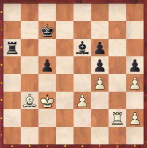 Game 10 after Jun Wenjun played 42 ...Be6