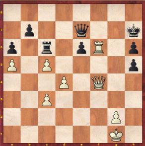 Game 12 Move 56 Ju Wenjun played e5