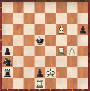 Game 5 after move 51 Rf4