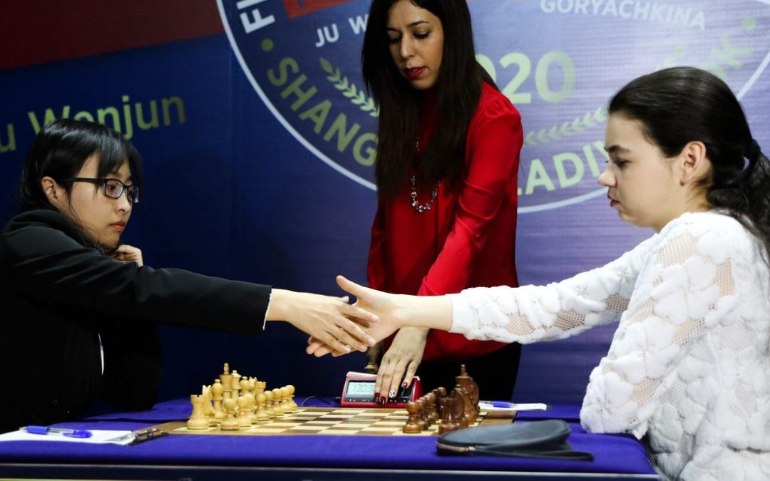 2020 Women's World Chess Championship Standings after Game 7! – Match moved to Russia now.