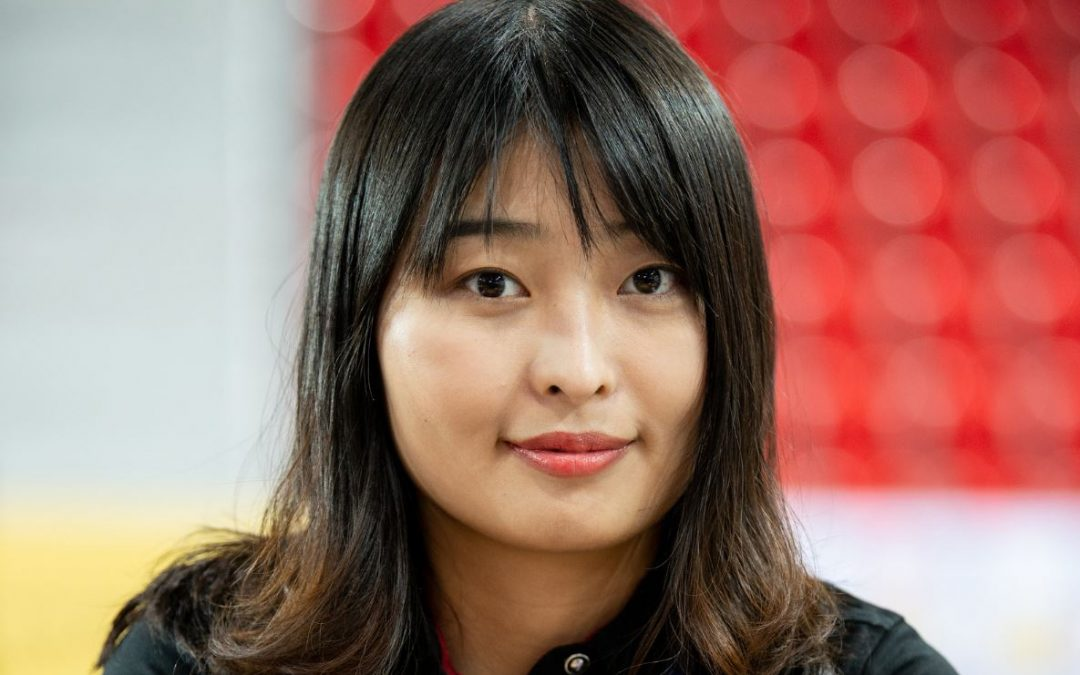 China's Ju Wenjun beats Russia's Aleksandra Goryachkina to even the score (4½-4½) at Women's World Chess Championship!
