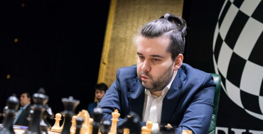 Ian Neopmniachtchi Round 5 in clear 1st place 2020 World Chess Candidates Tournament