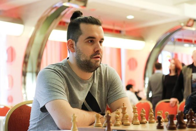 Ian Neopmniachtchi at 2020 World Chess Candidates Tournament