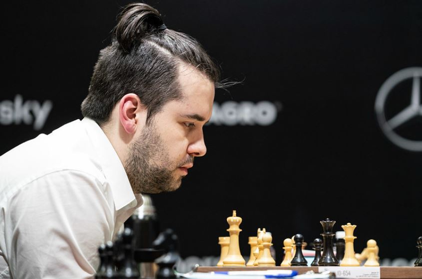 Ian Nepomniachtchi at 2021 Candidates Tournament