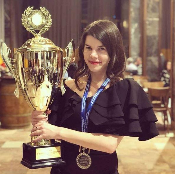 Iulija Osmak 2019 Women European Club Chess Championship