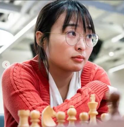 China's Ju Wenjun rated 2575 is the Women's World Chess Champion
