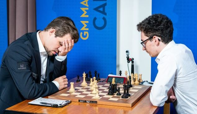 Carlsen vs Karjakin – The Magnificent Checkmate at the historic Fulton Market building!