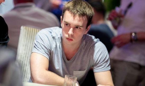 Ottomar Ladva at poker table