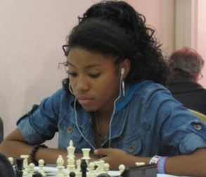 Rochelle Ballantyne African American chess player appeared in the 2012 documentary Brooklyn Castle