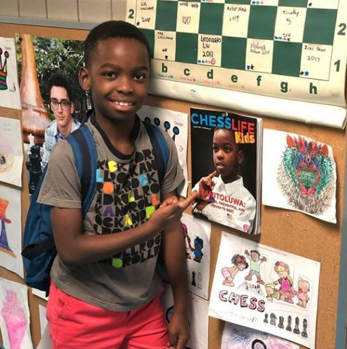 An 8-Year-Old Refuge is the K-3 New York Chess Champion!