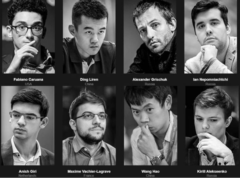 2020 World Chess Candidates Photo - March 17, 2020