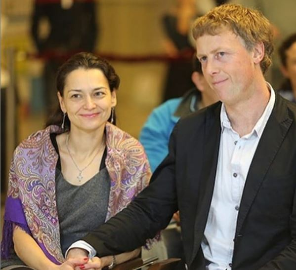The Chess Queen with her husband GM Pavel Vladimirovich Tregubov