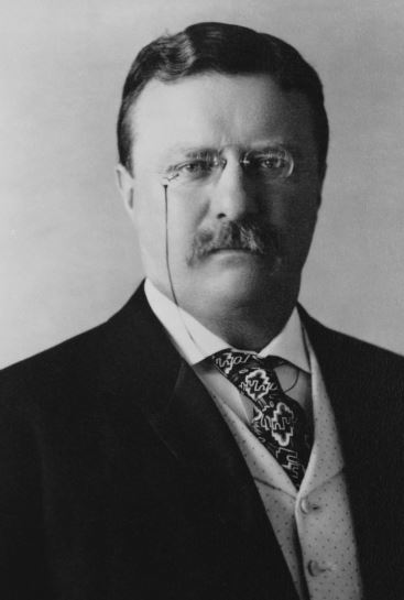 Theodore Roosevelt, the 26th President of the USA