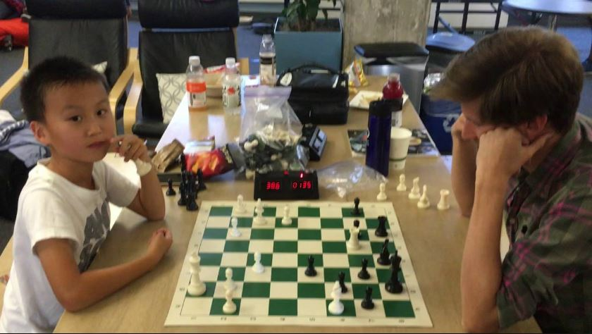 The USA's Youngest Ever International Chess Master!