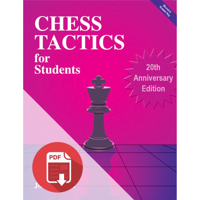 Chess Tactics PDF E-Book - ON SALE NOW!