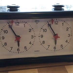 Diamond Quartz Analog Chess Clock - SUPER SALE!!!