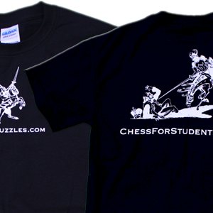 Chess For Students T-Shirt - SALE! - 50% OFF - SALE!