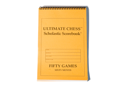 Scholastic Chess Player Scorebook