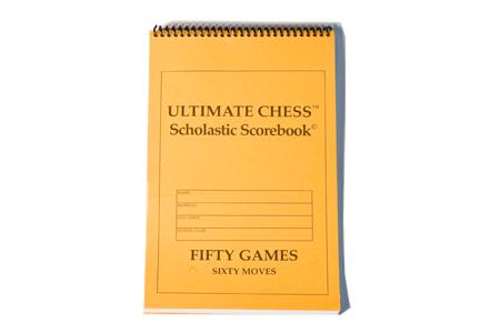 Scholastic Chess Player Scorebook