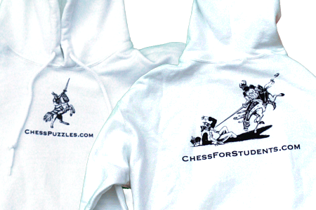 Chess For Students Hoodies - SALE! - 50% OFF - SALE!