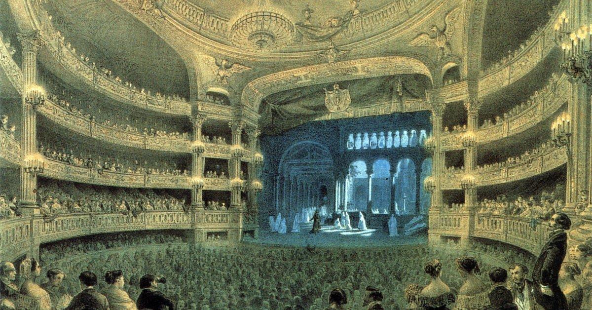 Salle le Peletier Italian Opera House